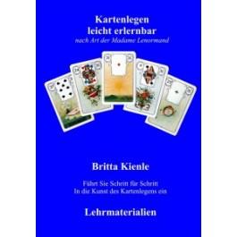 Kartenlegen leicht lernen Lenormand Fernkurs II Ringbuch