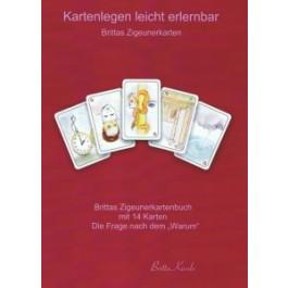 Kartenlegen leicht zu erlernen mit Brittas Zigeunerkartenbuch
