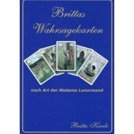 Begleitbuch zu Britta ihren Wahrsagekarten nach Art der Madame Lenormand hiermit erlernt man das Kartenlegen noch schneller