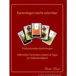 Lenormand Karten erlernen einfach und schnell mit dem bewährten System Lehrbuch