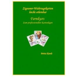 Zigeuner Wahrsagekarten Fernkurs Ringbuch KArtenlegen leicht erlernen