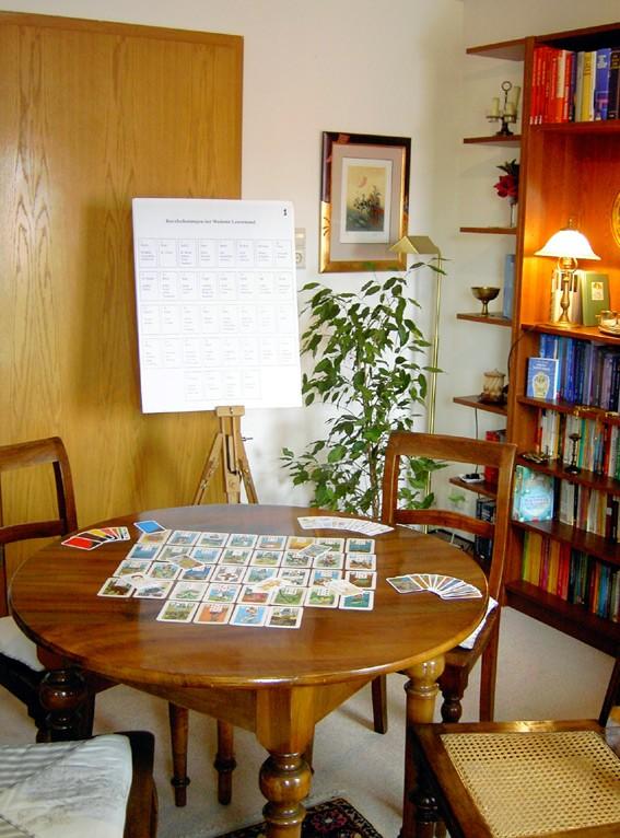 Einzelseminar /Intensivseminar Aufbaukurs I zum Thema Kartenlegen lernen
