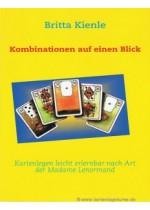 Alle Lenormand Kombinationen auf einen Blick mit Brittas Lenormand Lehrbuch