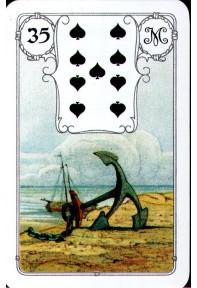 """Blaue Eule Karten """"Anker"""" No.35"""