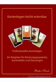 Kartenlegen leicht erlernbar Lehrbuch nach Art der Mlle. Lenormand