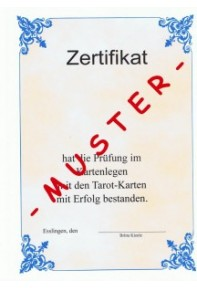Tarot Ebook die Prüfungslektion /Prüfungsbuch zum Fernkurs Tarot