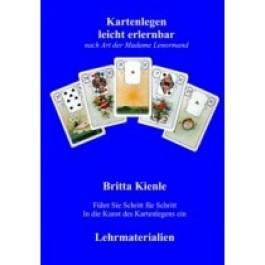 Fernlehrgang zum Thema Kartenlegen leicht erlernbar Lehrmaterialien