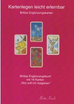 Kartenlegen leicht erlernbar, Brittas Ergänzungskarten, Brittas Ergänzungsbuch mit 14 Karten, Kartenlegen lernen, learn Card reading shop, oracle, Fortune telling, Shop, onlineshop, cheap, good