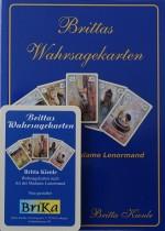 Brittas Wahrsagekarten plus Brittas Wahrsagebuch-Zeit-u.Zukunftskarten mit Symbolen + Lenormand  Interpretationshilfe