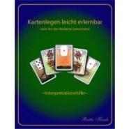 """Lenormand Interpretationhilfe """"das A+0 des Kartenlegens""""  für Anfänger (Ebook)"""
